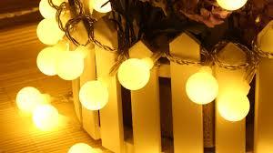 Unique String Lights by 2pcs 33ft 100 Led Globe String Lights Warm White Ball Fairy Light
