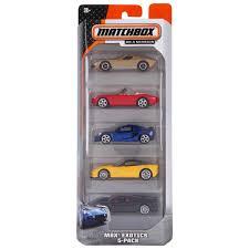 matchbox cars matchbox 5 pack car set assorted big w