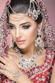 east indian bridal make up