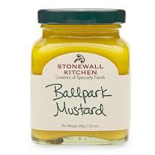 stadium mustard ballpark mustard condiments stonewall kitchen