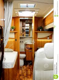 new motor home inside view stock image image of park 35566111