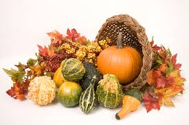 how to make a thanksgiving cornucopia