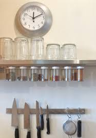 kitchen beautiful image of black metal hanging wall spice rack