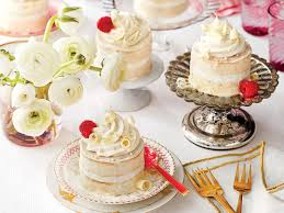 buttermilk lime mini cakes with vanilla mascarpone buttercream