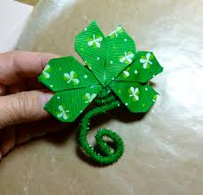 shamrock ribbon make it easy crafts february 2013