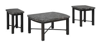 Ashley Furniture Kitchen Table Sets Ashley Furniture T114 13 Otterton 3 Pc Cocktail Table Set Black