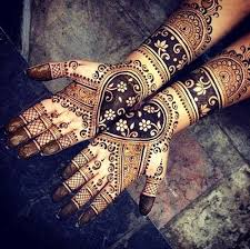 10 gorgeous symmetrical half and half mehndi designs bling sparkle