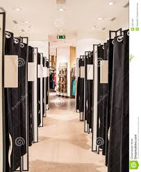 fitting rooms stock image image of females clothing 24974527