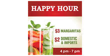 happy hour sign template 28 images happy hour flyer template
