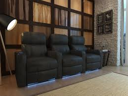 home theater recliner row of 3 home theater ideas pinterest