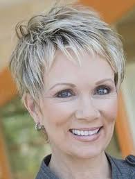 great pixie haircut for women over 50 with short thick hair razor