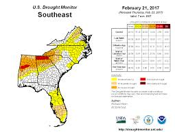 Ncsu Map Rapid Reaction An Unusual Event For Nc Drought Monitoring State