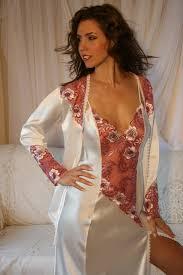 luxury silk nightdress francesca diki lingerie