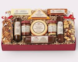 cheese and sausage gift baskets gifting with hickory farms cheese gifts sausage and farming