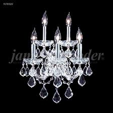 Crystal Wall Sconce by R Moder 91705s22 Maria Theresa Grand 5 Light Crystal Wall Sconce