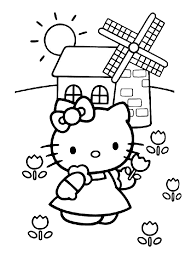coloriage hello kitty dessins a imprimer pour les grands