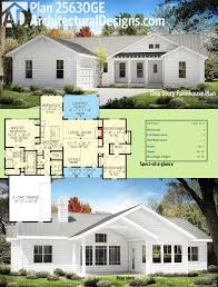 Home Design For Extended Family by Plan 25630ge One Story Farmhouse Plan Farmhouse Plans Square