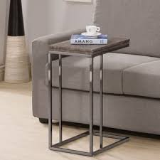 C Side Table C Table Coffee Console Sofa End Tables For Less Overstock