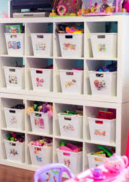 delightful shoe storage for children with wooden shelves in white