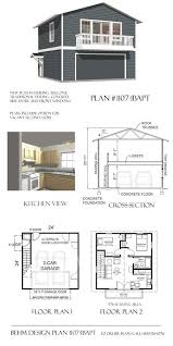 Garage With Living Space Above by Best 20 Garage Apartment Plans Ideas On Pinterest 3 Bedroom