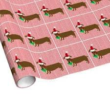 dachshund christmas wrapping paper canine christmas paper the container store dog products for