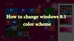 space themes for windows 8 1 change windows 8 1 theme colors youtube