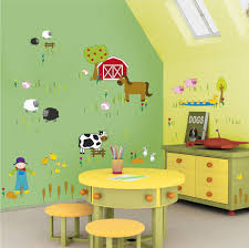 Wall Paint Design For Kids Wall Painting For Kids Bedroom With - Kids bedroom paint designs