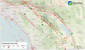 Newport Inglewood Fault Map Quake Forecast 4 California Faults Are Ready To Rupture San