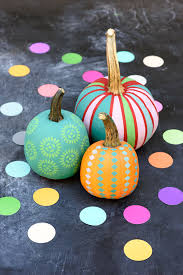 Pumpkin Decorating Without Carving 35 Halloween Pumpkin Painting Ideas No Carve Pumpkin Decorating