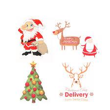 christmas stickers 1 page 20 pcs christmas stickers merry christmas circular