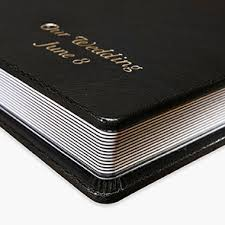 personalized leather photo album personalized photo albums nations photo lab