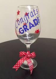 graduation wine glasses custom graduation wine glasses on etsy 10 00