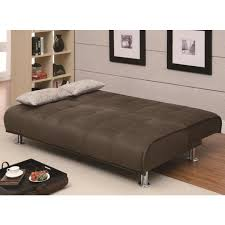 sofa bed storage transitional brown sofa bed u0026 storage ottoman set sofa beds
