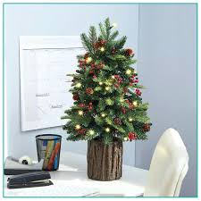 real tabletop tree small trees table top with lights and