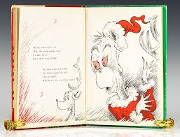 how the grinch stole dr seuss edition signed