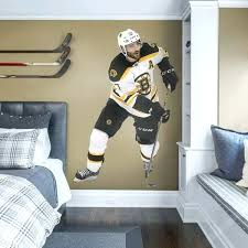 boston bruins bedroom best hockey mural images on wall decals decal and murals bruins