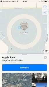 park siege social apple park le nouveau siège de la pomme se concrétise