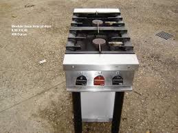 piano de cuisine professionnel d occasion module philips 2 feux gaz ninox materiel professionnel de