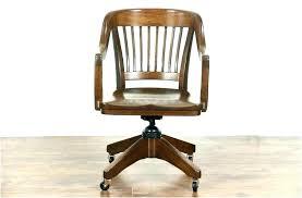 wood desk chair with wheels wooden swivel desk chair wooden swivel office chair wood desk chair