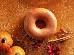 krispy kreme pumpkin spice glazed doughnuts will return for one
