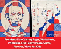 presidents day printable coloring pages presidents day coloring pages worksheets printables free funny