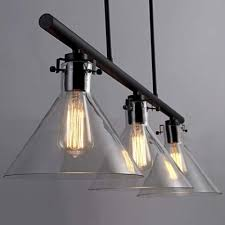 3 Light Island Pendant Fashion Style 3 Industrial Lighting Beautifulhalo