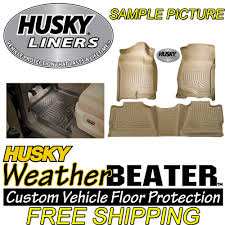 Husky Liner Floor Mats For Toyota Tundra by Review Of The Husky Liners Weatherbeater Front And Rear Floor