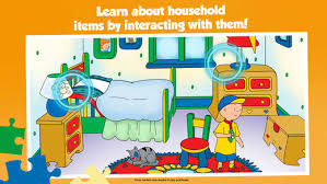 caillou house puzzles app store