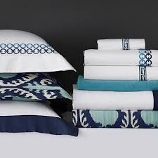 Williams Sonoma Bedding Best 25 Ikat Bedding Ideas On Pinterest Blue Bedspread Shibori