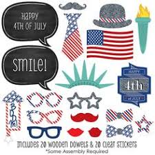 printable photo booth props summer 4th of july party photo booth props set 24 piece printable