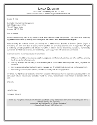 Resume And Cover Letter Samples Resume Cover Letter Examples For Administrative Assistants Cover