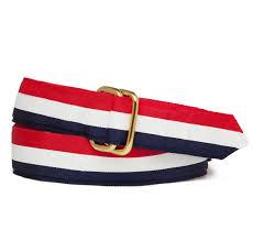 blue and white striped ribbon white and blue stripe ribbon belt sir s
