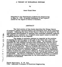 Dissertation abstract Education Information and Education News Education Information and Education News