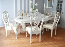shabby chic dining table shabby chic dining room table beay co